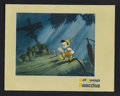 "Movie Posters:Animated, Pinocchio (RKO, 1940). Deluxe Lobby Card (11"" X 14""). Animated. Starring the voices of Dick Jones and Cliff Edwards. Directe..."