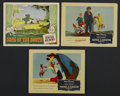 "Movie Posters:Animated, Song of the South (RKO, 1946 and R-1956). Lobby Cards (3) (11"" X 14""). Animated. Starring James Baskett, Bobby Driscoll, Rut... (Total: 3)"