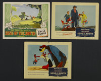 """Song of the South (RKO, 1946 and R-1956). Lobby Cards (3) (11"""" X 14""""). Animated. Starring James Baskett, Bobby..."""