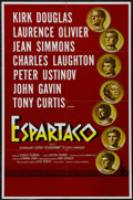 "Movie Posters:Adventure, Spartacus (Universal International, 1960). Spanish Language OneSheet (27"" X 41""). Drama. Starring Kirk Douglas, Laurence Ol..."