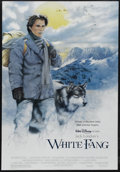 "Movie Posters:Adventure, White Fang (Buena Vista, 1991). One Sheet (27"" X 40"") Double Sided.Adventure. Starring Klaus Maria Brandauer, Ethan Hawke, ..."