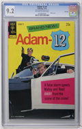 Bronze Age (1970-1979):Miscellaneous, Adam 12 #1 File Copy (Gold Key, 1973) CGC NM- 9.2 Off-white towhite pages. Photo cover. Overstreet 2006 NM- 9.2 value = $95...