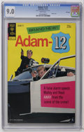 Bronze Age (1970-1979):Miscellaneous, Adam 12 #1 File Copy (Gold Key, 1973) CGC VF/NM 9.0 White pages.Photo cover. Overstreet 2006 VF/NM 9.0 value = $72; NM- 9.2...