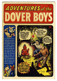 Adventures of the Dover Boys #1 Mile High pedigree (Archie, 1950) Condition: VF. Hardy Boys-like adventures from Archie...