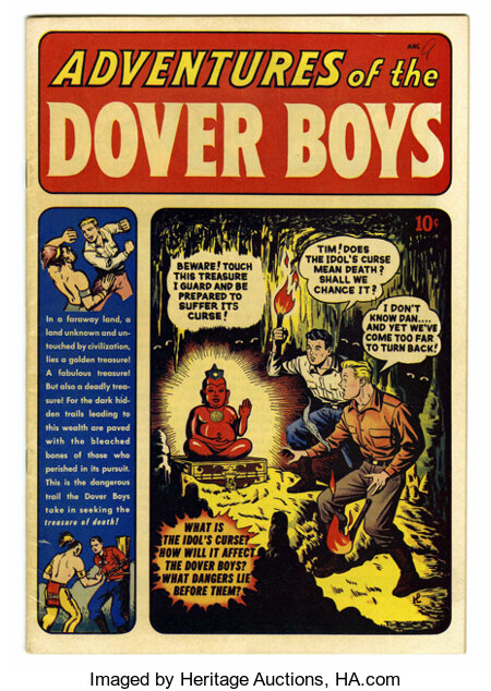 Adventures of the Dover Boys #1 Mile High pedigree (Archie, 1950) Condition: VF. Hardy Boys-like adventures from Archie Comi...