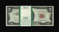 Small Size:Legal Tender Notes, Fr. 1510 $2 1953A Legal Tender Notes. 100 Notes. Choice Crisp Uncirculated.. ... (Total: 100 notes)