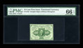 Fractional Currency:First Issue, Fr. 1243 10c First Issue PMG Gem Uncirculated 66 EPQ....