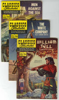 Golden Age (1938-1955):Classics Illustrated, Classics Illustrated #101-109 First Editions Group (Gilberton,1952-53) Condition: Average VG.... (Total: 9 Comic Books)