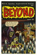 Golden Age (1938-1955):Horror, The Beyond #3 Mile High pedigree (Ace, 1951) Condition: VF/NM.Wonderful condition for a black cover book. Mike Sekowsky art...