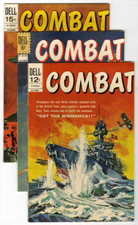 Combat #27-40 Group (Dell, 1967-73) Condition: Average NM-.... (Total: 14 Comic Books)