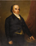 Fine Art - Painting, American:Antique  (Pre 1900), Emery Seaman (American, 1822-1865). Daniel Webster, 1852. Oil on canvas. 50 x 40 inches (127 x 101.6 cm). Signed and d...