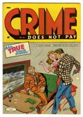 Crime Does Not Pay #40 Mile High pedigree (Lev Gleason, 1945) Condition: NM-. Charles Biro cover. Overstreet 2006 NM- 9...