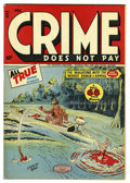 Golden Age (1938-1955):Crime, Crime Does Not Pay #48 Mile High pedigree (Lev Gleason, 1946) Condition: VF/NM. Charles Biro cover. Overstreet 2006 VF/NM 9....