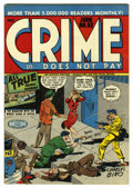 Golden Age (1938-1955):Crime, Crime Does Not Pay #52 Mile High pedigree (Lev Gleason, 1947) Condition: NM. Charles Biro cover. Overstreet 2006 NM- 9.2 val...