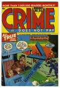 Golden Age (1938-1955):Crime, Crime Does Not Pay #54 Mile High pedigree (Lev Gleason, 1947) Condition: NM. Charles Biro bullet through the head cover. Ove...