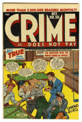 Golden Age (1938-1955):Crime, Crime Does Not Pay #56 Mile High pedigree (Lev Gleason, 1947) Condition: NM-. Charles Biro cover. Overstreet 2006 NM- 9.2 va...