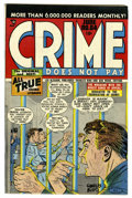 Golden Age (1938-1955):Crime, Crime Does Not Pay #64 Mile High pedigree (Lev Gleason, 1948) Condition: NM-. Charles Biro cover. Overstreet 2006 NM- 9.2 va...