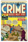 Golden Age (1938-1955):Crime, Crime Does Not Pay #66 Mile High pedigree (Lev Gleason, 1948) Condition: NM-. Charles Biro cover. Overstreet 2006 NM- 9.2 va...