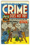 Golden Age (1938-1955):Crime, Crime Does Not Pay #68 Mile High pedigree (Lev Gleason, 1948) Condition: NM. Charles Biro cover. Overstreet 2006 NM- 9.2 val...
