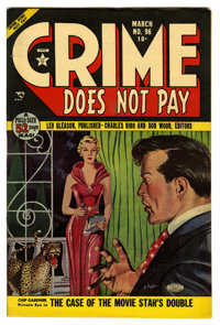 Crime Does Not Pay #96 Mile High pedigree (Lev Gleason, 1951) Condition: NM-. Bob Fujitani painted cover. Overstreet 200...