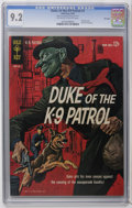 Silver Age (1956-1969):Mystery, Duke, of the K-9 Patrol #1 File Copy (Gold Key, 1963) CGC NM- 9.2Off-white to white pages. Painted cover. Back cover pin-up...