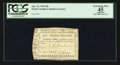 Colonial Notes:North Carolina, North Carolina April 23, 1761 20s PCGS Apparent Extremely Fine 45.....