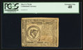 Colonial Notes:Continental Congress Issues, Continental Currency May 9, 1776 $8 PCGS Extremely Fine 40.. ...