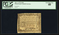 Colonial Notes:Pennsylvania, Pennsylvania April 3, 1772 2s 6d PCGS Extremely Fine 40.. ...