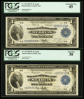 Fr. 731 $1 1918 Federal Reserve Bank Note PCGS Very Fine 30; Fr. 732 $1 1918 Federal Reserve Bank Note PCGS Ext