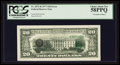 Error Notes:Third Printing on Reverse, Fr. 2072-K $20 1977 Federal Reserve Note. PCGS Choice About New 58PPQ.. ...