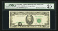 Error Notes:Shifted Third Printing, Fr. 2075-B $20 1985 Federal Reserve Note. PMG Very Fine 25.. ...