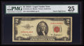 Error Notes:Mismatched Serial Numbers, Fr. 1510 $2 1953A Legal Tender Note. PMG Very Fine 25.. ...