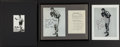 Boxing Collectibles:Autographs, Schmeling and Patterson Signed Photographs Lot of 3....