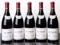 Red Burgundy, La Tache 1994 . Domaine de la Romanee Conti . 2lbsl, 1wisl,#01075-01077, 01079, 01080. Bottle (5). ... (Total: 5 Btls. )