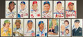 Baseball Collectibles:Others, Baseball Greats Signed Perez Steele Postcards Lot of 13 (w/Additional Unsigned Examples)....