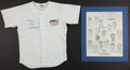 Baseball Collectibles:Others, Duke Snider and Willie Mays Signed Memorabilia Lot of 2....