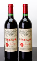 Red Bordeaux, Chateau Petrus 1982 . Pomerol. 1gsl, 1wasl. Bottle (2). ... (Total: 2 Btls. )