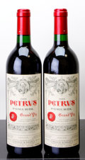 Red Bordeaux, Chateau Petrus 1989 . Pomerol. Bottle (2). ... (Total: 2 Btls. )