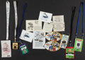 Football Collectibles:Tickets, Collection of Larry Little Signed Passes and Other Signed Material. ...