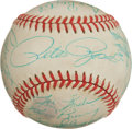 Baseball Collectibles:Balls, 1989 Cincinnati Reds Team Signed Baseball. ...