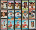 Baseball Cards:Lots, 1964 - 1967 Topps Baseball Collection With Stars (106). ...