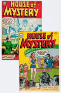Golden Age (1938-1955):Horror, House of Mystery #33 and 34 Group (DC, 1954-55).... (Total: 2 ComicBooks)