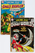Silver Age (1956-1969):Miscellaneous, Showcase #16 and 17 Group (DC, 1958) Condition: Average FR....(Total: 2 Comic Books)