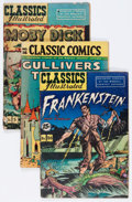 Silver Age (1956-1969):Classics Illustrated, Classics Illustrated Group (Gilberton, 1940s -'60s) Condition:Average GD/VG.... (Total: 17 Comic Books)