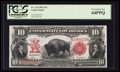 Large Size:Legal Tender Notes, Fr. 116 $10 1901 Legal Tender PCGS Very Choice New 64PPQ.. ...