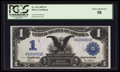 Large Size:Silver Certificates, Fr. 231 $1 1899 Silver Certificate PCGS Choice About New 58.. ...