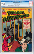 Golden Age (1938-1955):Science Fiction, Strange Adventures #8 (DC, 1951) CGC FN/VF 7.0 Off-white to whitepages....