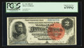 Large Size:Silver Certificates, Fr. 242 $2 1886 Silver Certificate PCGS Superb Gem New 67PPQ.. ...
