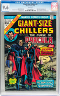 Bronze Age (1970-1979):Horror, Giant-Size Chillers #1 (Marvel, 1974) CGC NM+ 9.6 White pages....