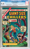 Bronze Age (1970-1979):Horror, Giant-Size Chillers #1 (Marvel, 1975) CGC NM 9.4 Off-white to whitepages....